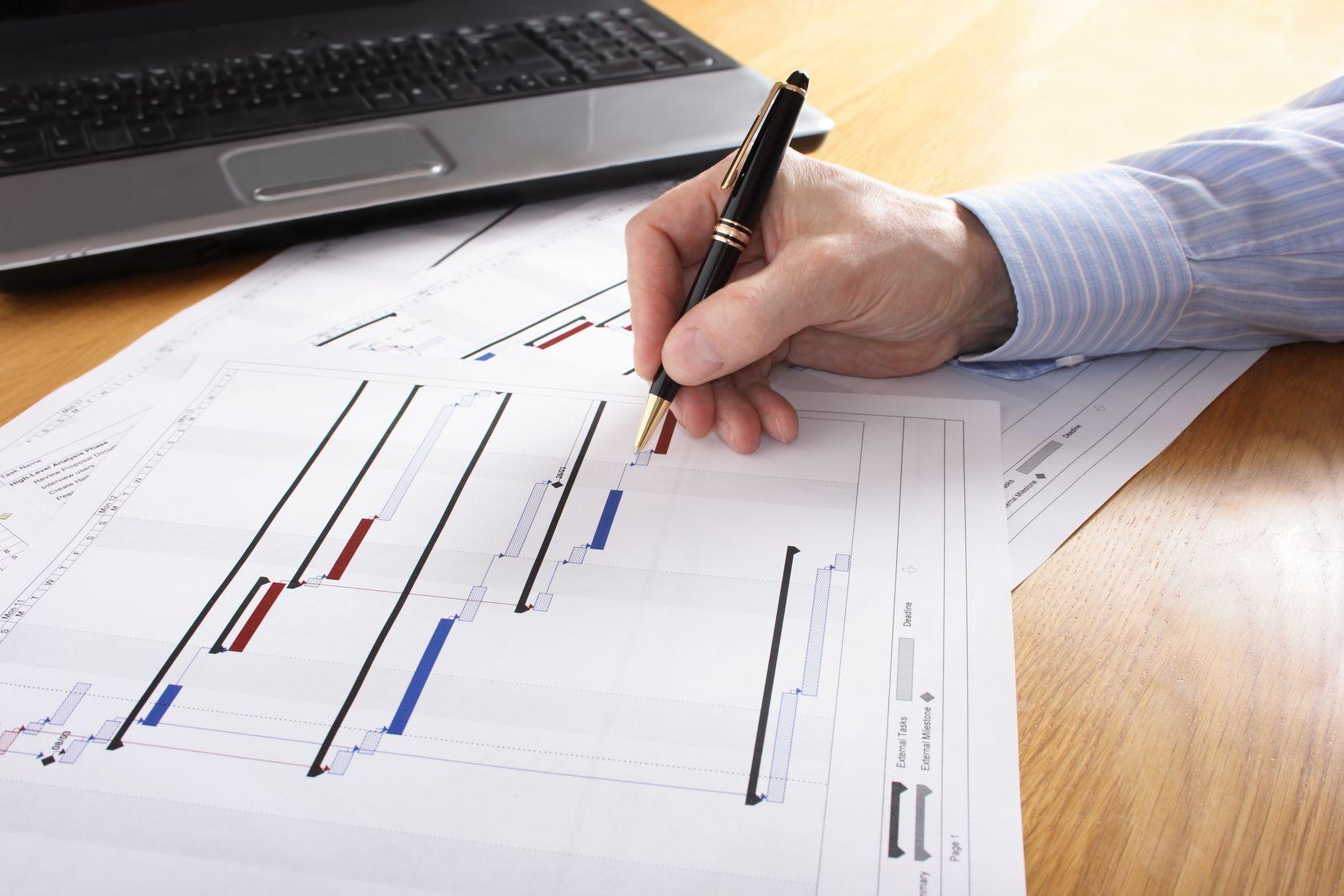 Umm cronograma baseado numa WBS bem elaborada é o primeiro passo para o sucesso num projeto