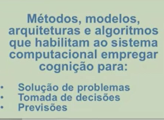 Computação cognitiva - um caminho viável
